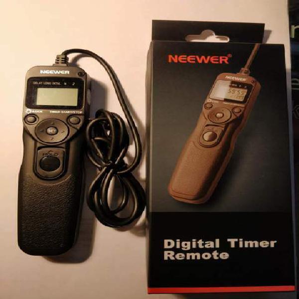 Lcd timer telecomando per scatto remoto e timelapse
