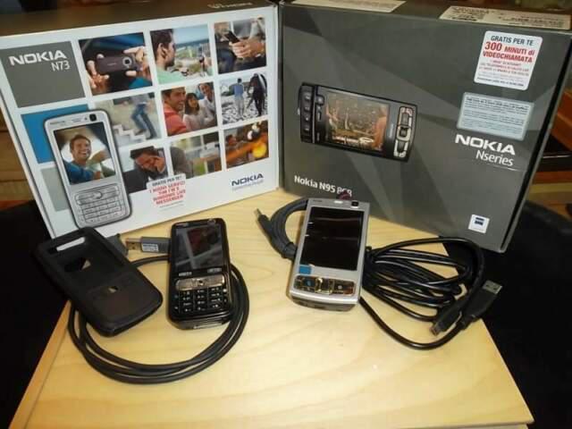 Nokia n73 + n95-2