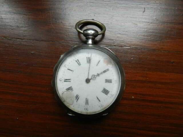 Orologio da tasca in argento massiccio