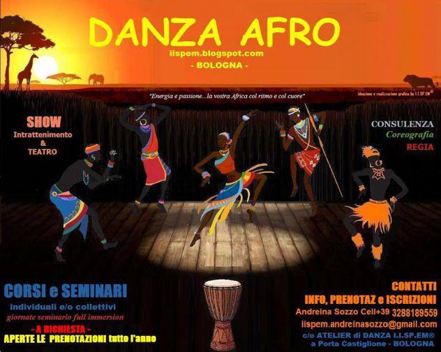 Danza afro da bologna video lezioni/corsi on line