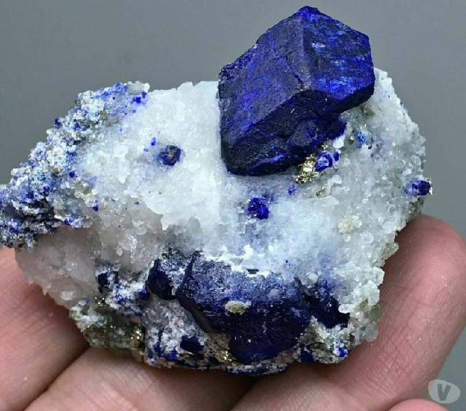 Minerali collezione lazurite crystal 370ct lapislazzuli
