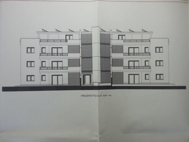 Terreno edificabile progetto approvato per 12 appartamenti