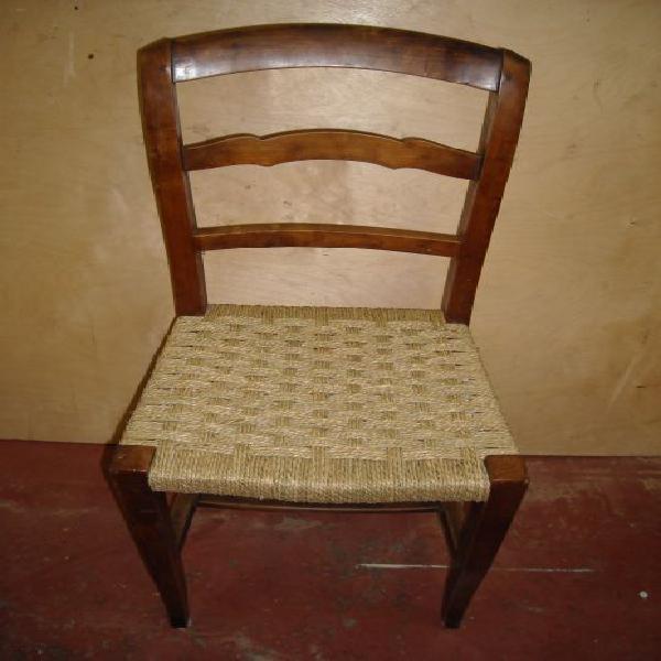 Impagliatura sedie - restauro antichità