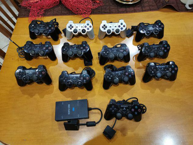 1° lotto 13 controller + multipad per sony playstation 2