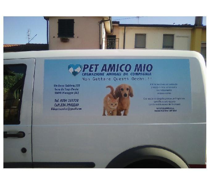 """Cremazione animali d'affetto """" pet amico mio """""""