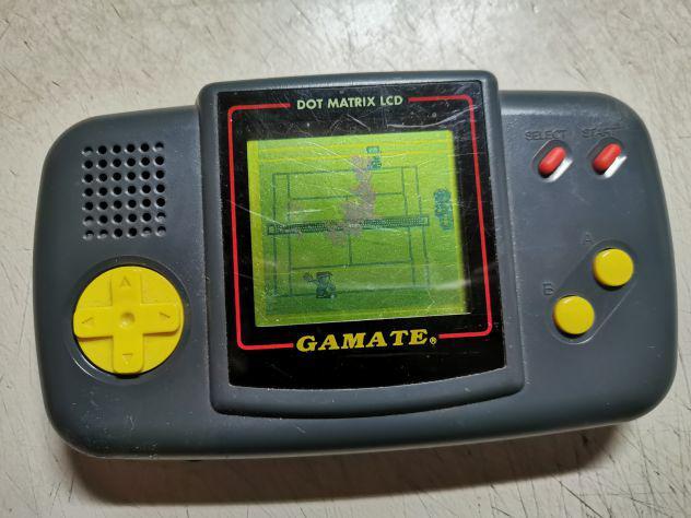 Console gamate giapponese 1990 + gioco tennis discrete