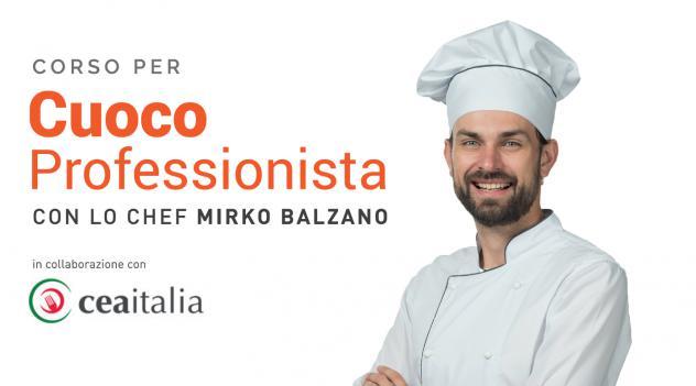 Corso professionale di cuoco con stage retribuito