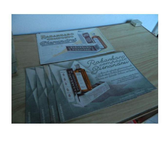 Farmacia pugilato pubblicità cataloghi
