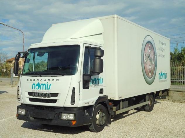 Iveco eurocargo 75e18 p eev furgone + sponda rif. 13097255