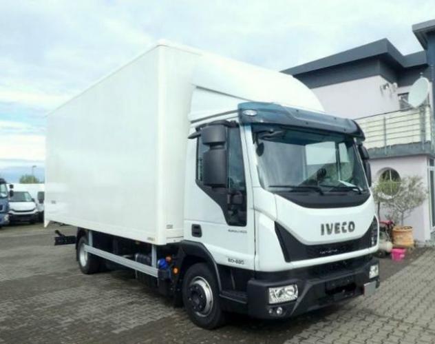 Iveco eurocargo 80e22 p euro 6 cassa furgone da 6,10 m rif.