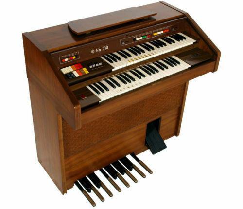 Pianola piano organo siel hb 710 vintage