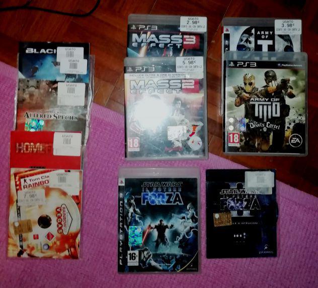 Playstation giochi ps3