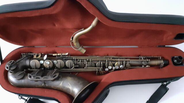 Sax tenore la ripamonti v jazz custom vi come nuovo.