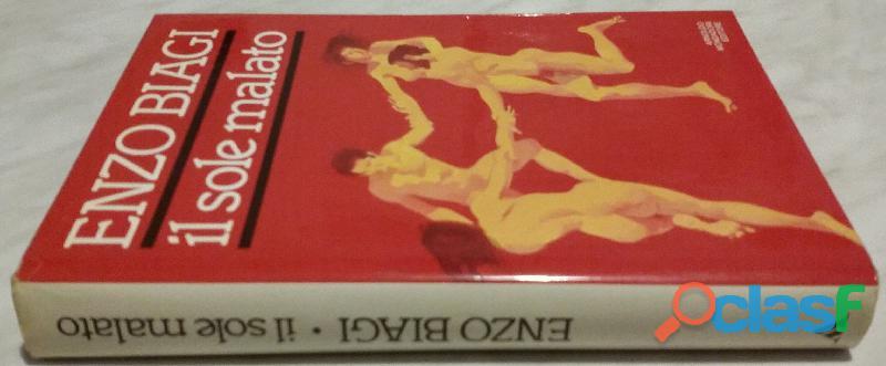 IL SOLE MALATO. VIAGIO NELLA PAURA DELL'AIDS di Biagi Enzo 1°Ed. Mondadori, 1987 perfetto 1