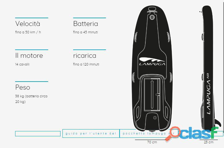 Surf a Motore Elettrico idrogetto 12