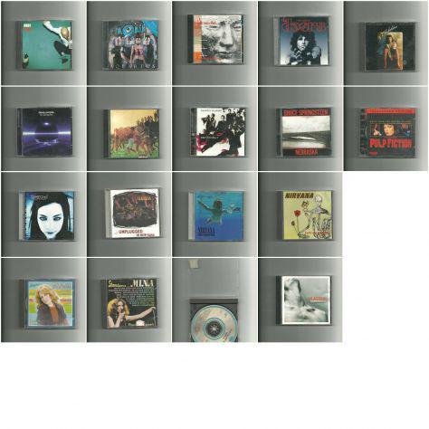 25 cd musicali di vario genere