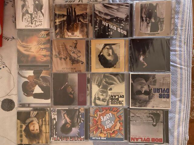 Collezione di cd bob dylan