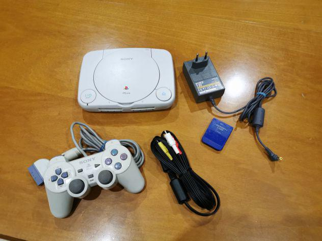 Console playstation 1 ps one con controller e memory card