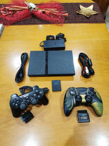 Console PlayStation 2 Slim 2 controller memory card