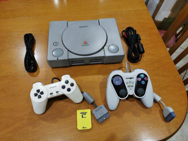Console Sony Playstation 1 PS1 PSX due controller memory