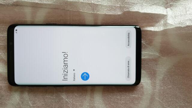 Galaxy s9 dual sim + accessori