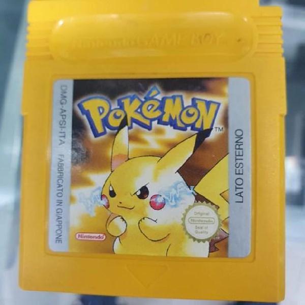 Gioco pokemo giallo per game boy color loose