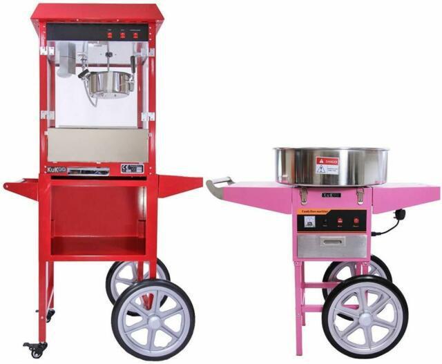 Noleggio macchina zucchero filato e pop-corn e cioccolata