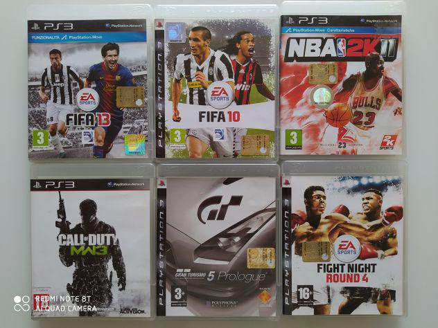 PS3 FIFA 10, FIFA 13, NBA 2K11, CALL OF DUTY MW3, GRAN