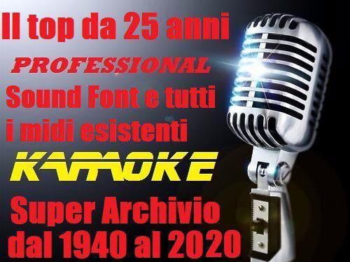 Super raccolta karaoke la più completa del web