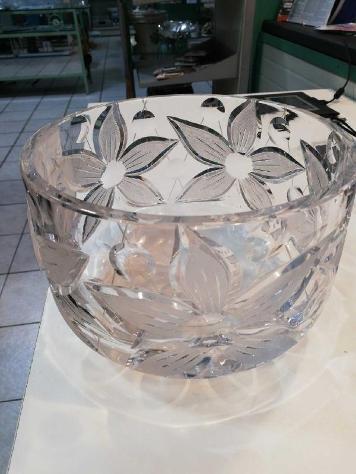 Vaso cristallo fiori