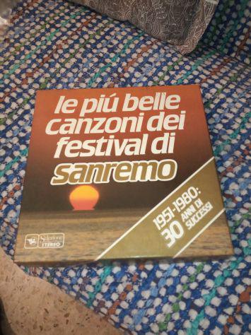 Vinili collezione Sanremo anni 51_80