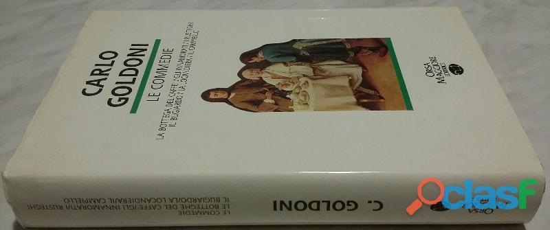 Le commedie di Carlo Goldoni Orsa Maggiore Editrice 1990 come nuovo 1