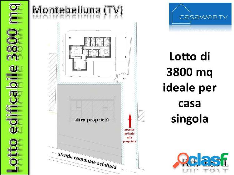 Terreno edif. 3800mq montebelluna (tv) rif. 1871