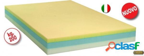 Termigea - materasso antidecubito bariatrico composito - h. 20 cm - portata 200 kg.