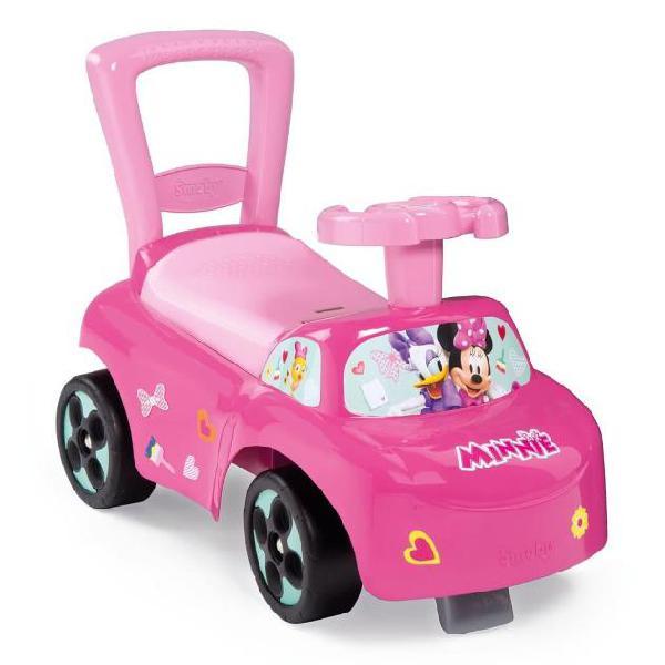 Smoby automobilina cavalcabile 3-in-1 minnie rosa