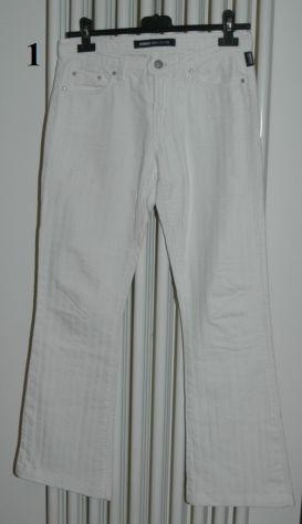Taglia 26 (ita 40), pantaloni colore bianco