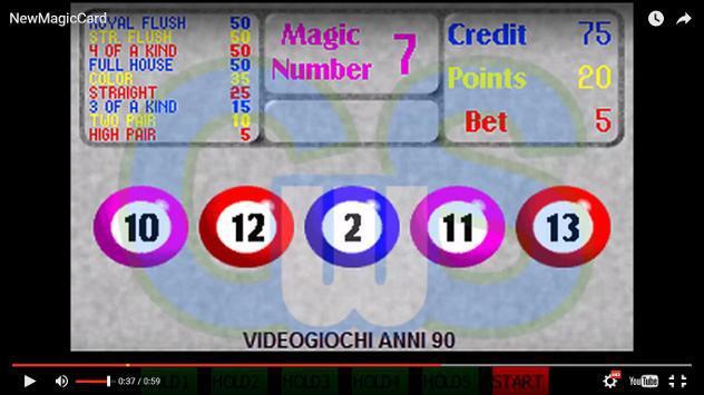 Videopoker Arcade Anni 90 Nuovo Euro 7