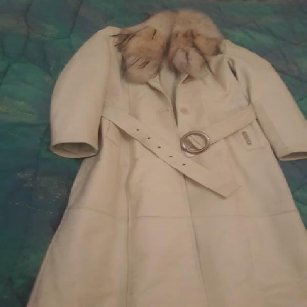 Cappotto vera pelle coconuda e cappotto max mara