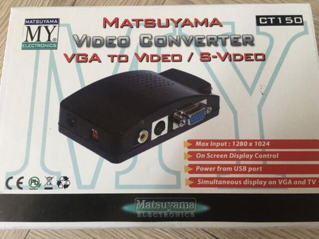 Matsuyama video convertitore vga da pc a tv