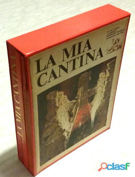 La mia cantina.4 volumi in vari formati+cofanetto innocenti lina e de rosa tullio ed.librex, 1969