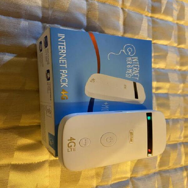 Modem Tim saponetta router Wi-Fi 4g LTE