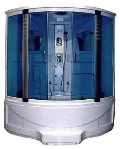Box doccia idromassaggio 143x143 cm bagno turco angolare 6