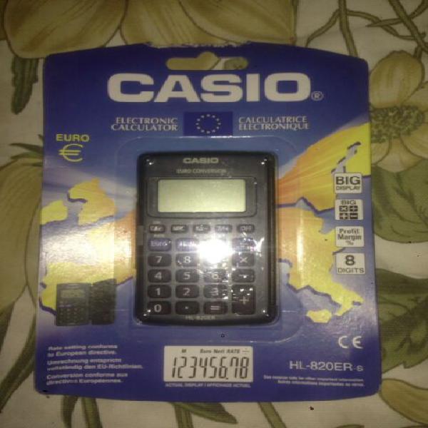 Calcolatrice elettronica casio