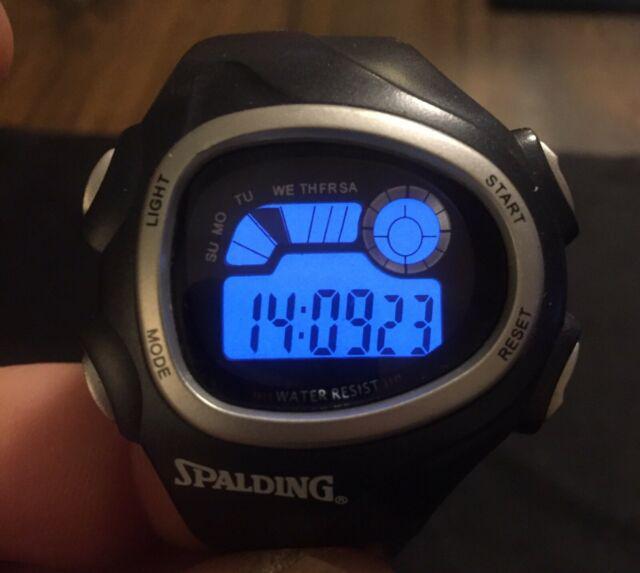 Orologio digitale spalding