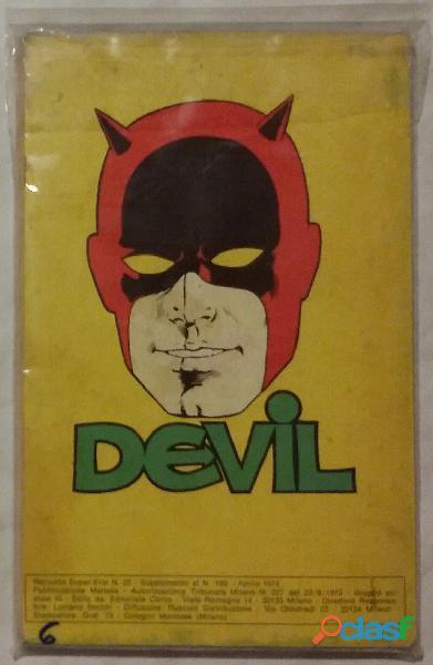 RACCOLTA Super Eroi Devil N.22 dell'aprile 1974   Editoriale Corno perfetto 1
