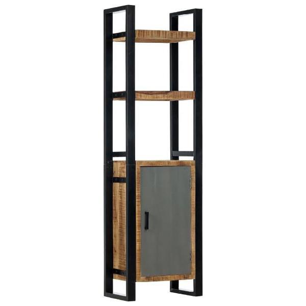 Vidaxl libreria 50x30x170 cm in legno massello di mango