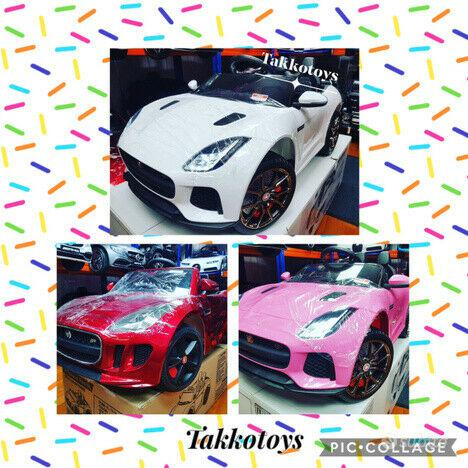 Auto macchina elettrica jaguar type s