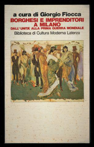 Borghesi e imprenditori a milano