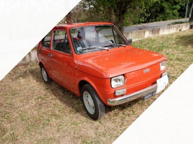 FIAT 126 D/'EPOCA  COPPIA  PANNELLI  PORTA SPORTIVI   NERO E BLU