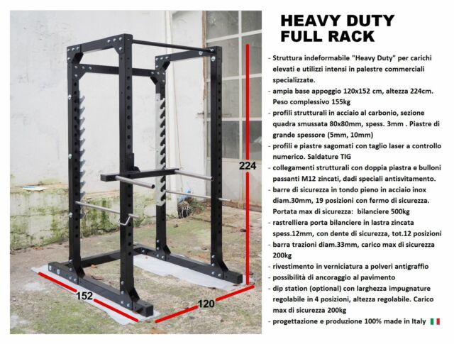 Full rack, squat cage, bodybuilding, powerlifting, palestra